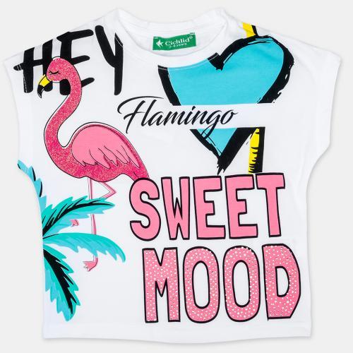 Тениска Flamingo Sweet Mood